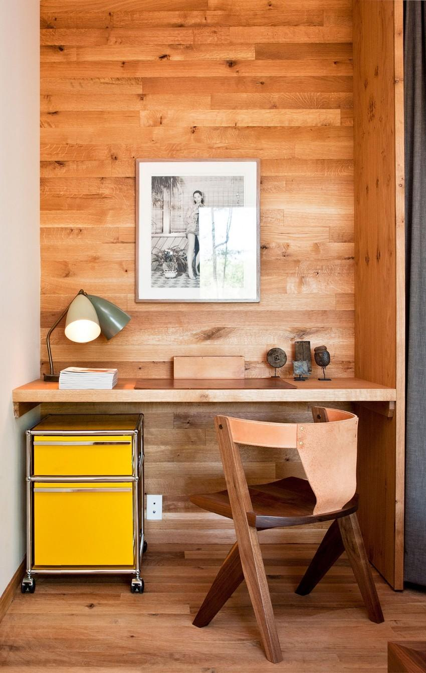 The American country house in retro style