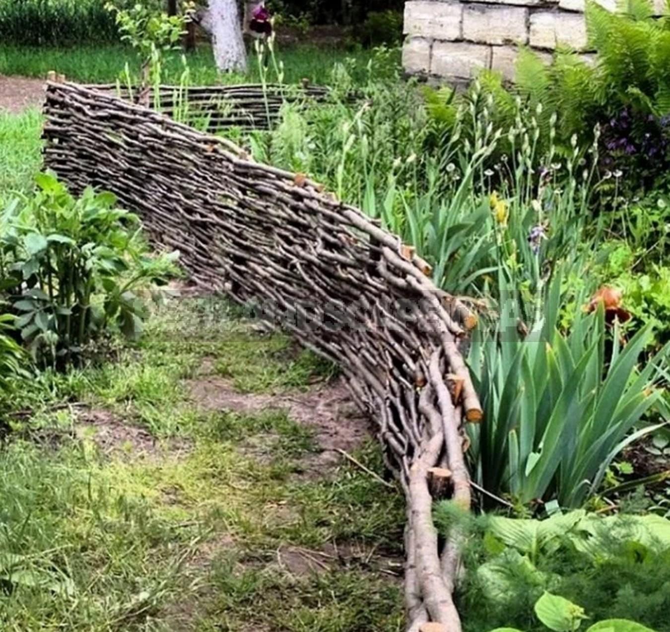 Landscape design: Flower Garden Borders Edging