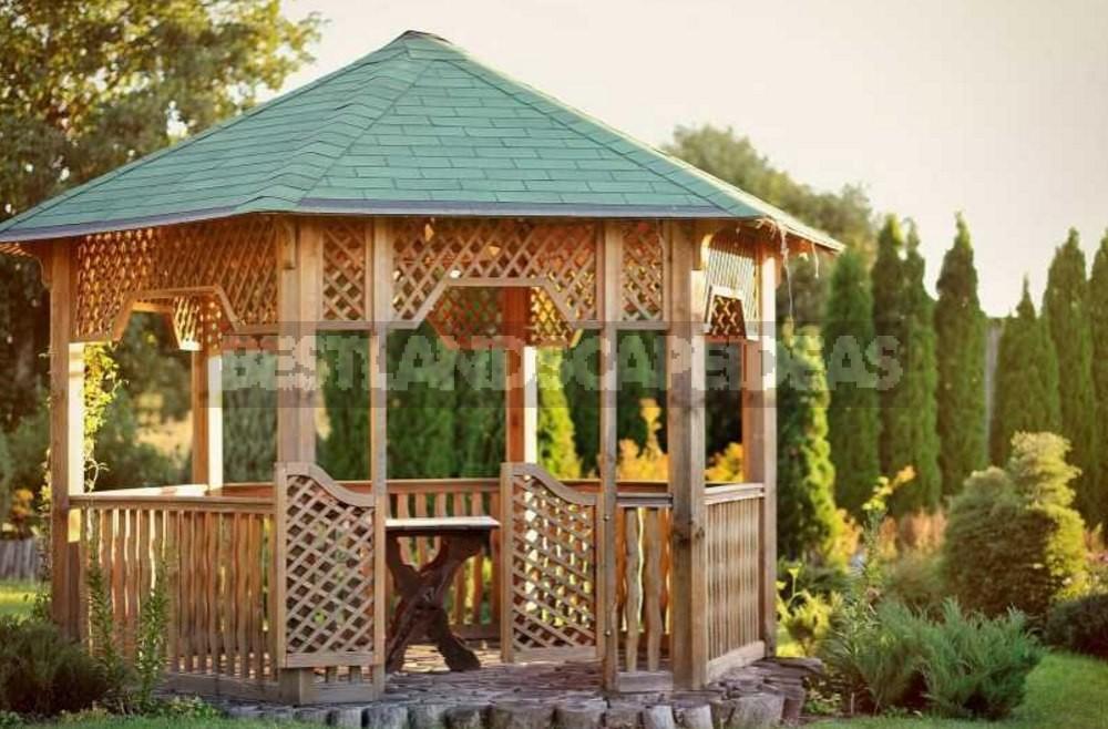 Best Options for Gazebos. Types of Structures, Use in Landscape Design