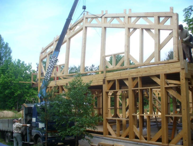 The Combined Insulation of a Frame House