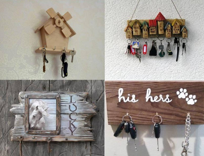 House for Your Golden Key, or a Few Ideas Really Original Key Holders
