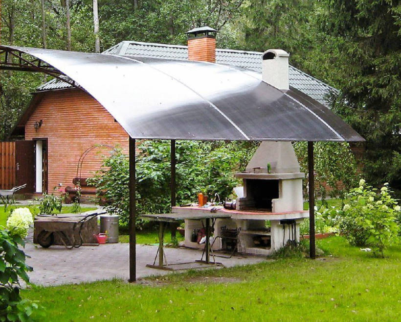And Above us is Not Dripping: Shelter for the Garden