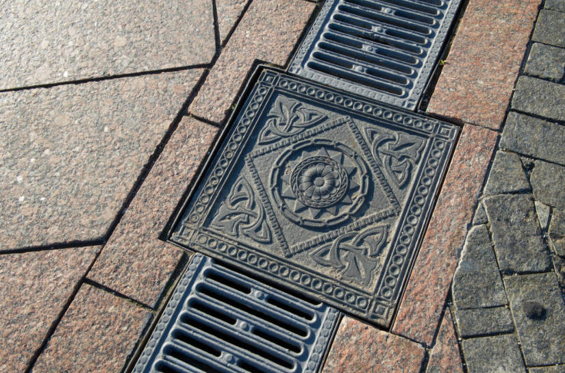 Drainage Systems in the Suburban Area Surface Drainage