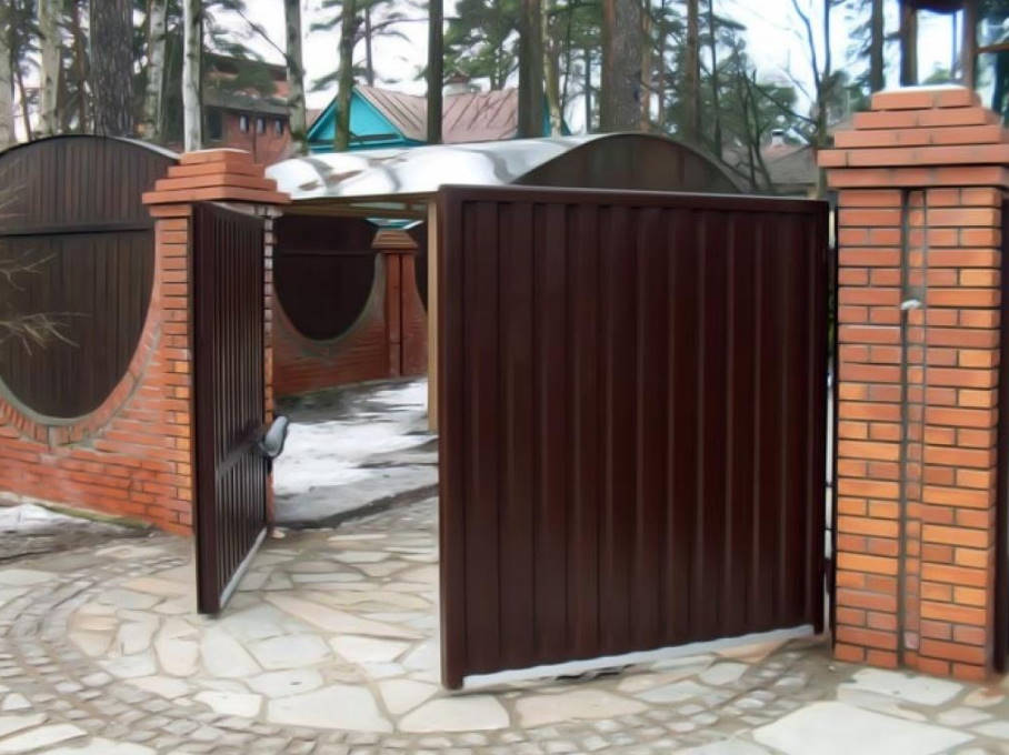 How to Choose an Automatic Gate for Country House