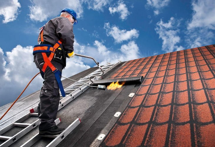 Roll Roofing Material