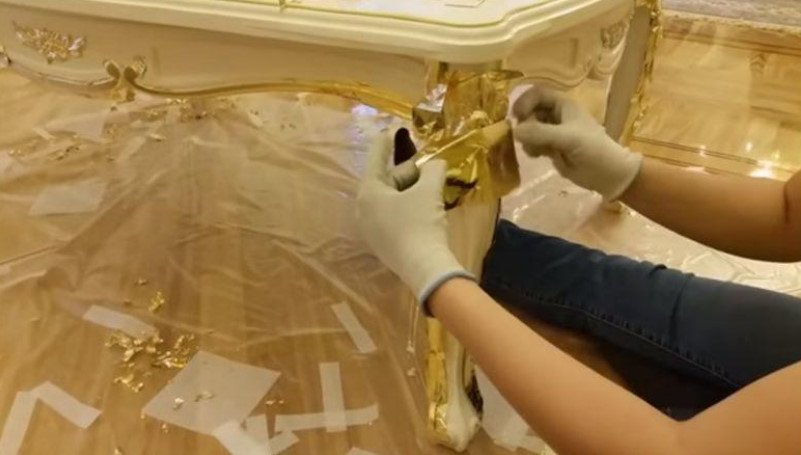 Painting of Old Furniture: Choice of Paint