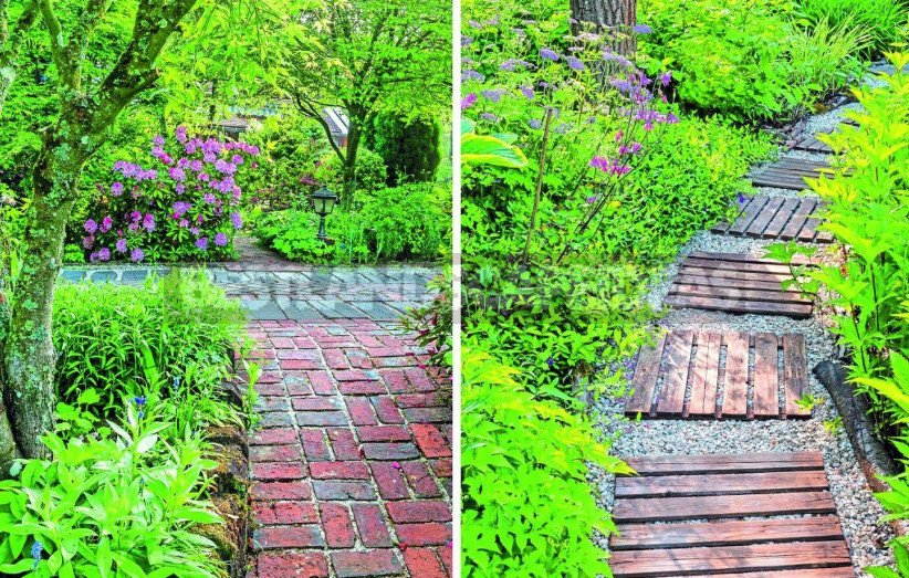 Garden Paths: Choose Materials, Shapes and Environment
