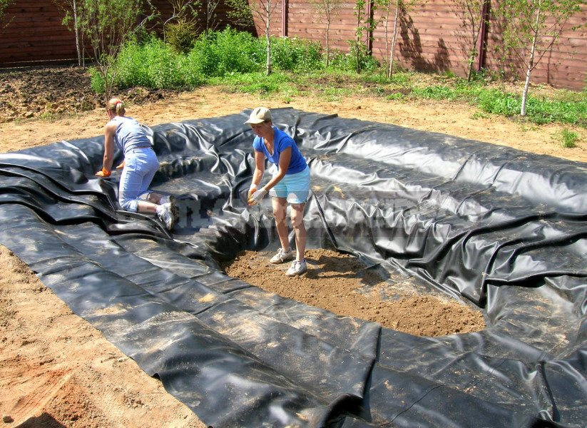 Pond in the Garden: Choose Materials and Equipment (Part 1)