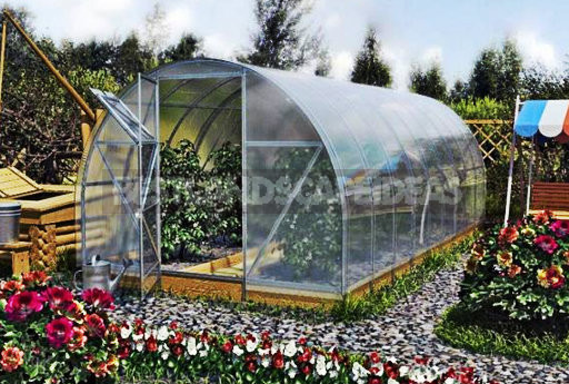 Polycarbonate Greenhouses With Their Hands