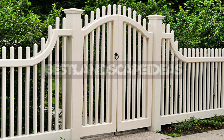 Fence in the Country With Their Hands