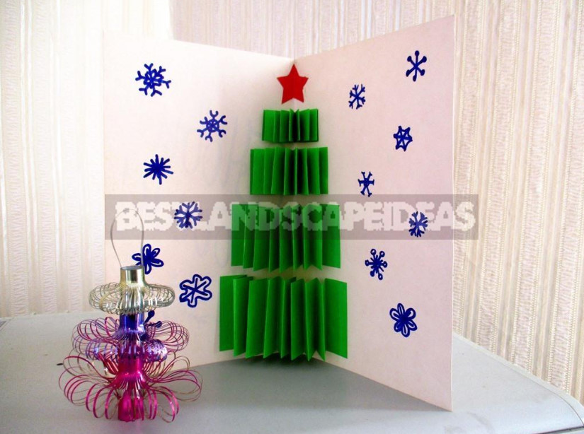 Christmas Trees: Simple Crafts With Your Own Hands