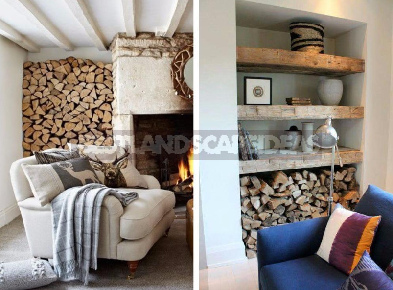 Wood in the Interior of a Country House