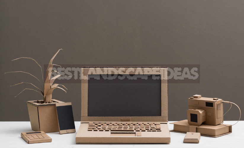 Furniture Made of Cardboard and Paper: the History and Technology of Such