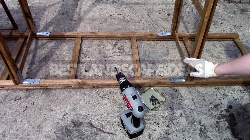 Easy Pergola for Garden With Your Own Hands