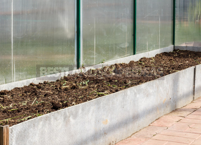 Warming of the Greenhouse Base With Foam: Technology and Advantages