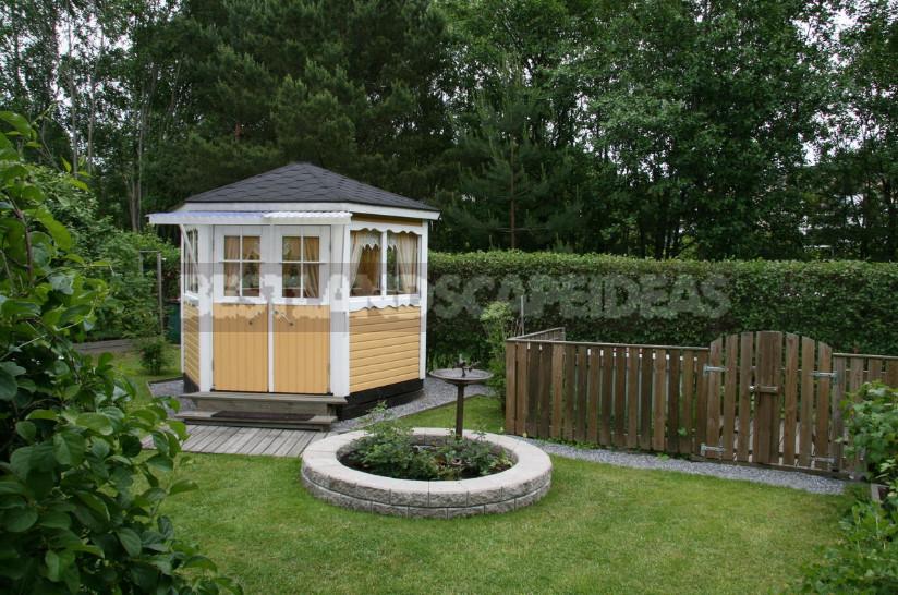 Hot Finnish garden 1 - Finnish Garden: Features of Ornamental Gardening in Finland