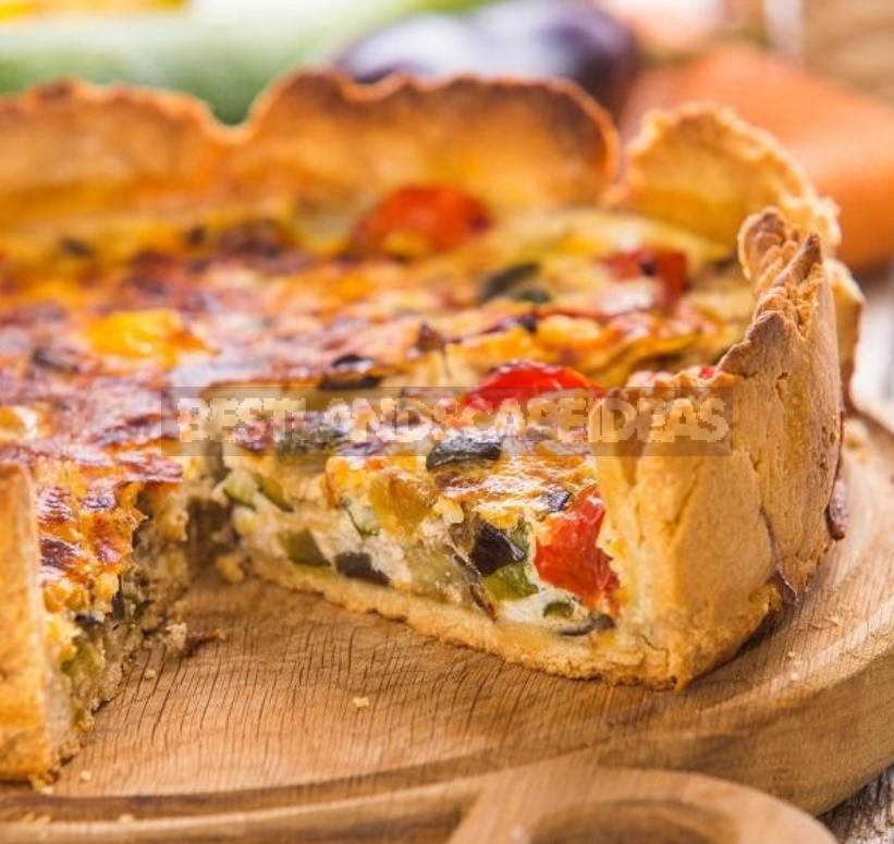 Recipes For Open Pies: With Vegetables, Fish, Chicken (Part 2)