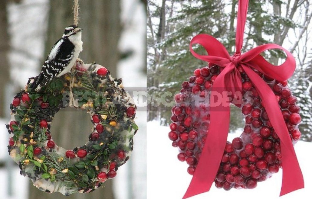 Wreaths Not Made Of Pine Needles: Ideas For New Year And Christmas Decor