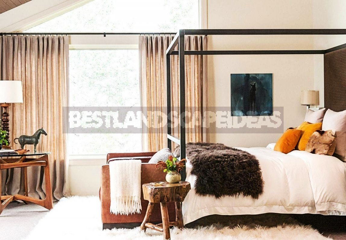 Cottage Bedroom With a Valance — Why Not?
