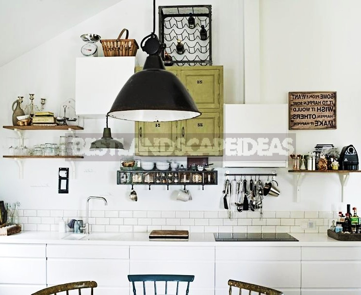 White Kitchen at the Cottage: Pros and Cons