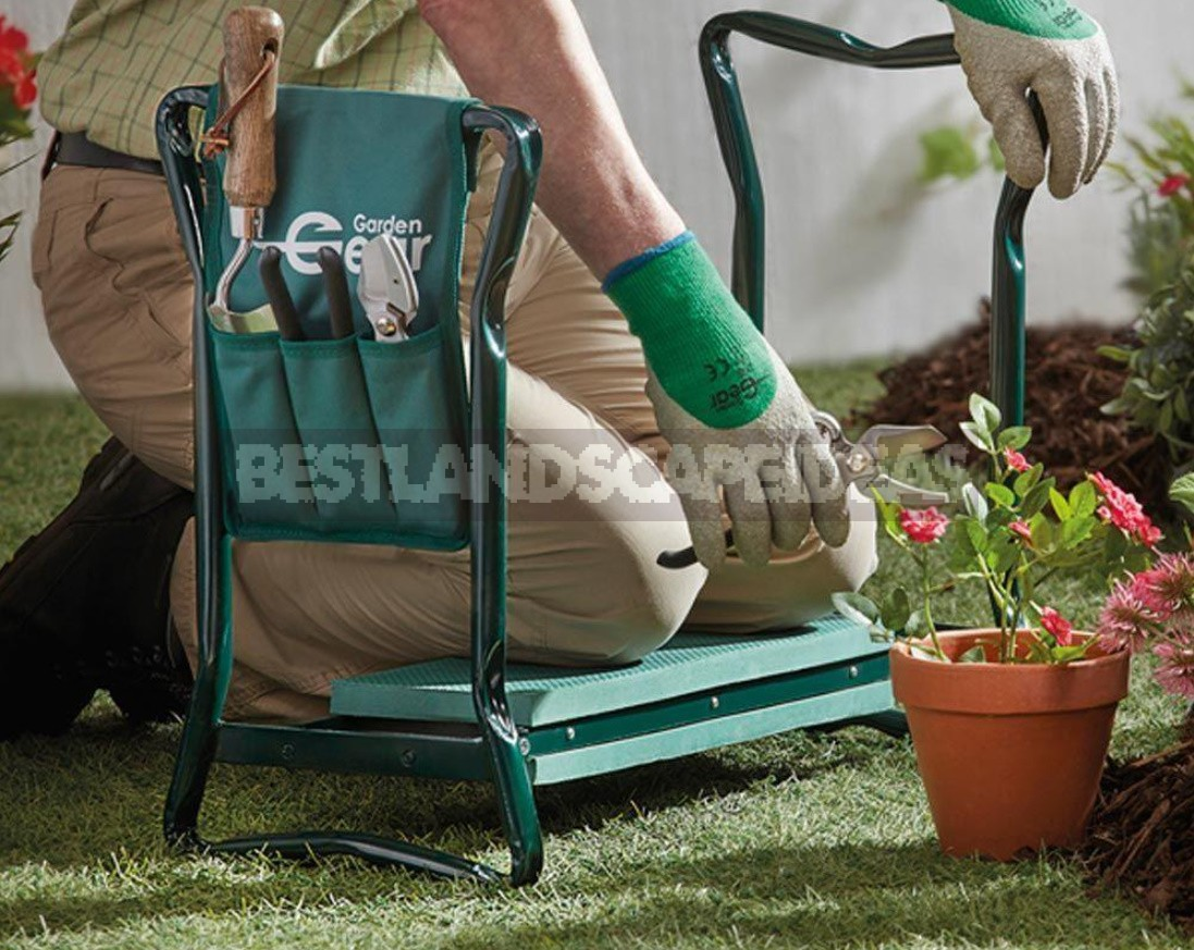 Convenient Weeding: Chairs, Mats, Knee Pads, Benches