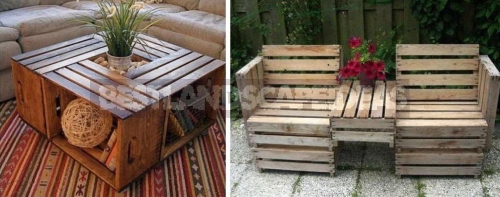 Unusual Furniture Made Of Ordinary Boxes