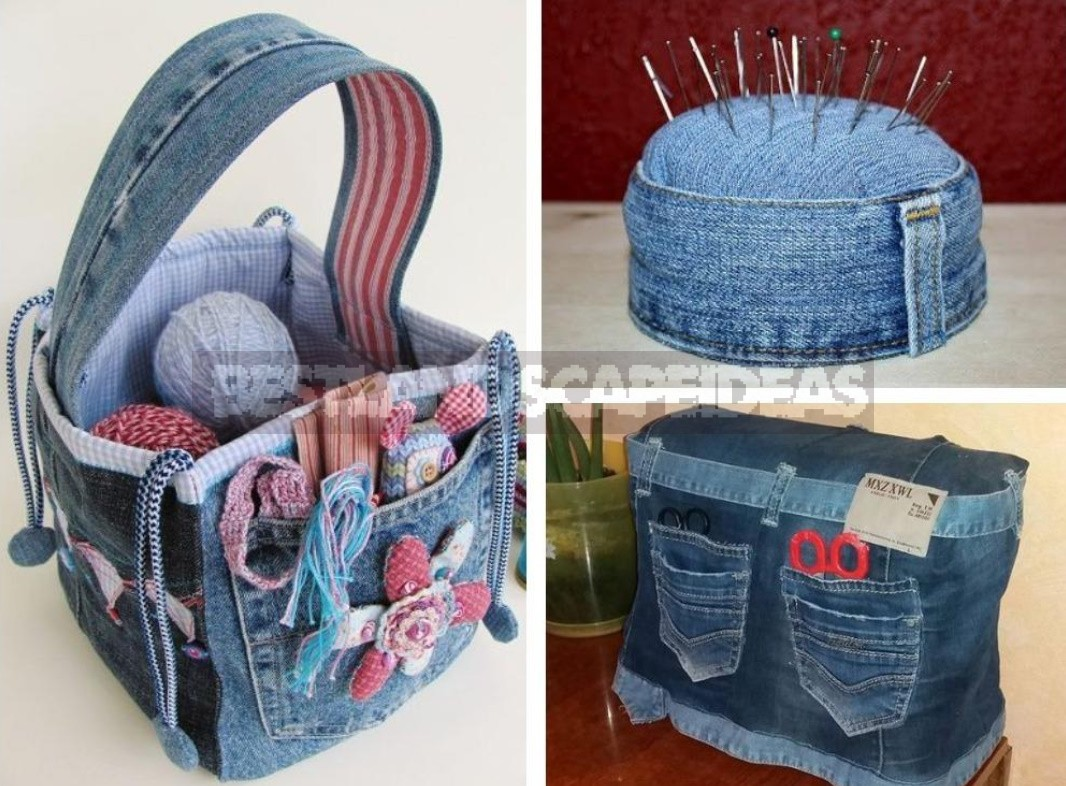 What To Sew From Old Jeans: Ideas For Needlewomen, Things With Their Own Hands (Part 1)