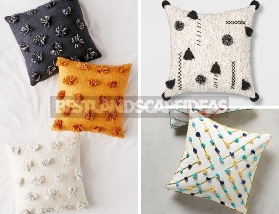 Decorative Pillows With Your Own Hands: Different Techniques, Photos