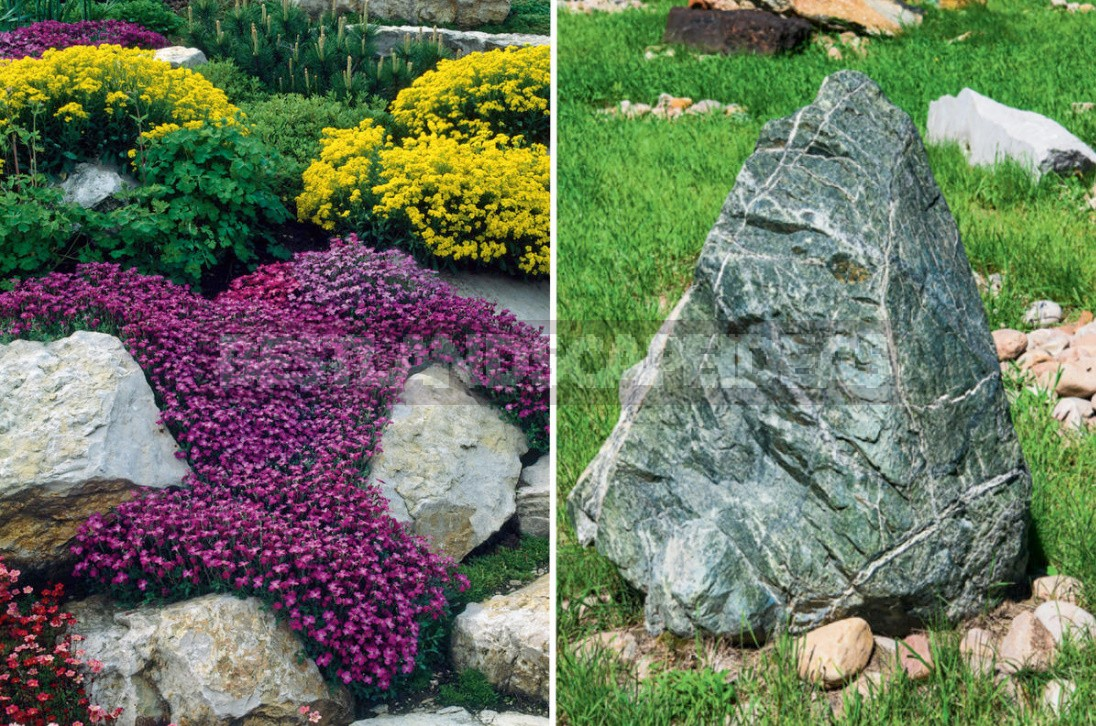 Rockery Device: Basic Rules And Stone Selection