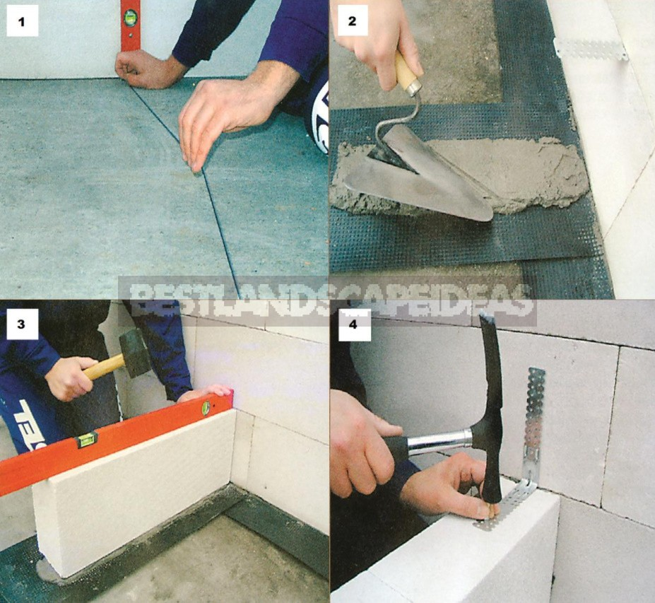 A Partition Made Of Foam Blocks With Your Own Hands: Photos And Step-By-Step Instructions
