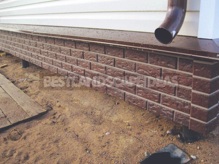 Self-Installation Of The Pile-Screw Foundation And Finishing Of The Plinth
