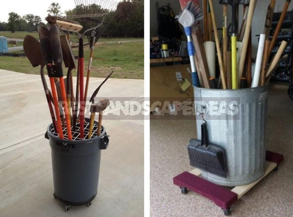 Where And How To Store Garden Tools More Conveniently: 10 Practical Ideas (Part 2)