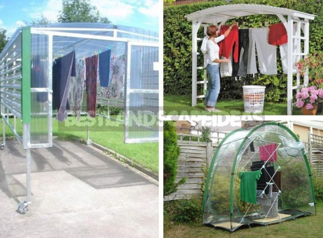 9 Practical Ideas for Clothes Dryers in a Country House