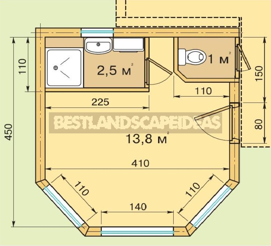 How To Attach a Bathroom To a Ready-Made Country House