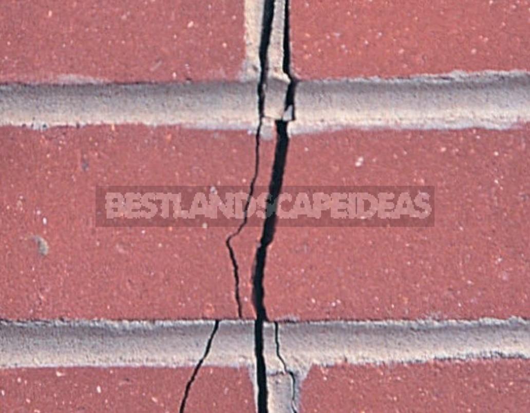 Repair Of Brickwork And New Stitching Of Seams
